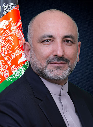 H.E. Mohammad Haneef Atmar Foreign Minister